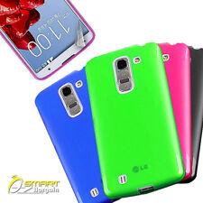 Matte Gel Case For LG G Pro 2 II + Screen Guard TPU Jelly Soft Cover