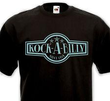 T-SHIRT ROCK-A-BILLY since 1954  Rockabilly SUN record Rock'n'Roll Retro Vintage