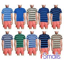 Para Hombres Polo Camiseta Informal Con Bolsillo Poli Algodón M-2XL ajuste flojo