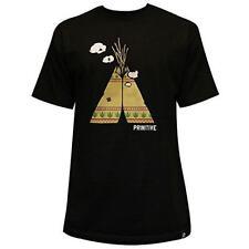 Primitive Apparel Puff Puff T-Shirt Black