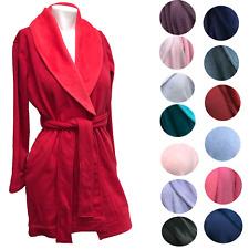 230a47a577 UGG Australia Blanche Plush Robe Shawl Collar Belted Spa High-low Hem  UA6178W