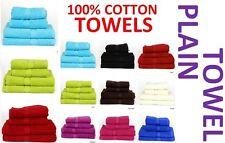 Serviettes coton uni en main serviette serviettes de bain serviette visage ou bain feuille Tout Nouveau