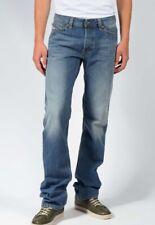 Diesel Viker 0R90L Men's Light Blue Regular Straight Jeans Trousers