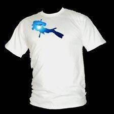scuba Diver & Hammerhai - herren gerätetauchen Shark T-shirt