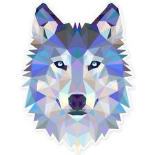 Wolf Modern Art Design Car Vinyl Sticker - SELECT SIZE