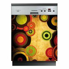 Autocollant Stickers lave vaisselle cercles Ref: LAV-065