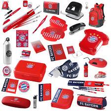 FC Bayern München Schule & Büro z.B. Rucksack, Brotdose, Stifte, Hefte, Mouse...