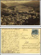 1908 Stempel MARKIRCH auf AK CPA Sainte-Marie-aux-Mines Elsass Frankreich France