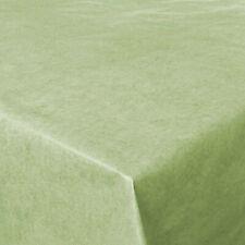 Wachstuch UNI Marble Grün Eckig Breite 140 cm Länge x wählbar Tischdecke