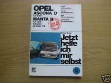 Reparaturanleitung Opel Ascona + Manta B, ab 1979