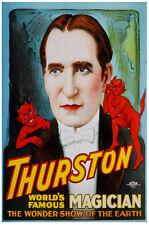 Magic POSTER.Stylish Graphics.Thurston Magician.Room Art Wall Decor.271i