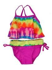 Mini Tangerine Infant & Toddler Girls 2 Pc Tie-Dye Top & Bikini Swim Suit