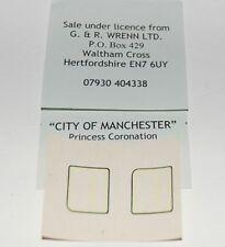 WRENN & Hornby Dublo City of Manchester Cab Side number