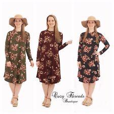NEW Boutique Reborn J KARA FLORAL SWING Dress - 4 Colors - Size S, M, L