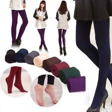 Para Mujer Chicas Invierno Abrigadas Entalladas Ajustadas Pantalones ajustados Gruesos Calzas Pantimedias de piqueros de patas