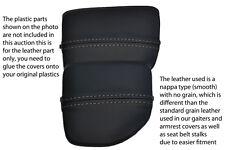 Gris Stitch encaja Mazda Mx5 Mk2 01-05 Miata Centro Consola sostenedor de taza Cubierta De Piel