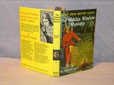 Vintage Nancy Drew #34 Hidden Window Mystery PC Error