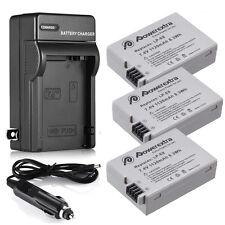LP-E8 Li-ion Battery + Charger for Canon Rebel T2i T3i T4i T5i Kiss X5 EOS 550D