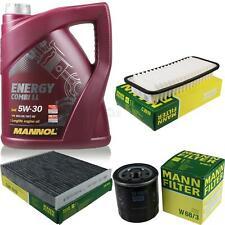 Ölwechsel Set 5L MANNOL Energy Combi LL 5W-30 MANN Inspektions Service 10044774