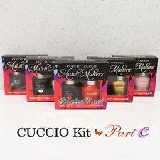 CUCCIO VENEER Match Makers - PART C DUO Nail Kit Gel Polish + Colour Lacquer SET