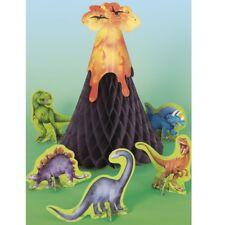 Dinosaurio Volcano Selva PANAL FIESTA Centro de mesa decoración cumpleaños