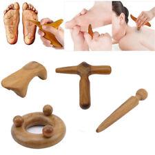 Vietnam Fragrant Wood Body Foot Reflexology Acupuncture Shiatsu Thai Massager LD