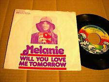 "MELANIE - WILL YOU LOVE ME TOMORROW / HERE I AM - 7"" - NEIGHBORHOOD RECORDS (10)"
