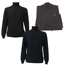 ALPHA STUDIO Pullover Herren Hals lupetto 100% Wolle slim fit Modell AU-4018H