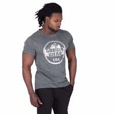 Gorilla Wear Rocklin t-shirt – Gray musculación Fitness