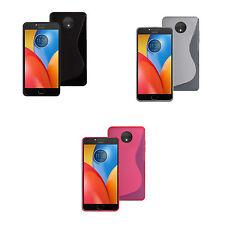 Funda Gel DE SILICONA S-LINE en varios colores para Motorola Moto E4