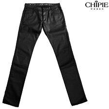 CHIPIE Jeans enduit COVENT noir femme taille  semi haute 31 US