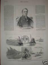 Print Ireland Dublin Cardinal Edward McCabe 1882
