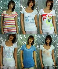 Aeropostale Women Embellished/stripe/Sheer Tee T shirt 6pc Lot MSRP$152.00 Value