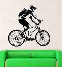 Wall Sticker Vinyl Decal Bicycle Sport Bike Race Great Room Decor (ig2207)