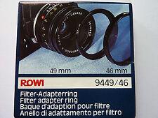 Filter-Adapter   Filteradapterring  Adapter  49-46