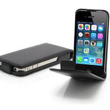 Apple iPhone 4 4S Flip Cover Tasche Case Etui Schutz Hülle Bumper Handytasche
