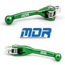 NEW MDR Full Flex Brake and Clutch Lever Set For Kawasaki KX 250 00 - 08