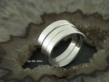 Silberring Feingehalt Massiv Silber 925 Spiralenring Fingerring