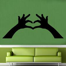 Su corazón está en mis manos pegatinas de pared arte Amor Decoración Dormitorio (rom36)