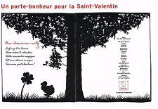 """PUBLICITE ADVERTISING   2009   DODO DE POMELLATO """" la ST VALENTIN"""" (2 pages)"""