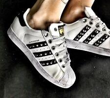 adidas superstar nere punta argento
