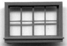 HORIZONTAL SLIDING WINDOW HO Model Railroad Structure Plastic Detail Part GL5081