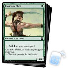 LLANOWAR ELVES X4 Eternal Masters Magic MTG MINT CARD