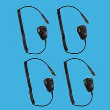 4X Shoulder Speaker Mic PTT for Motorola GP328 Plus GP638+ GP338XLS GP638XLS