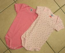 Body, 2er Pack, rosa und wildorchidee bis Größe 36 Monate von Petit Bateau. NEU!