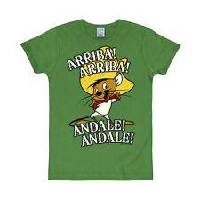 Looney Tunes - Speedy Gonzales - Arriba Slimfit T-Shirt - grün - LOGOSHIRT