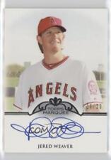 2011 Topps Marquee Monumental Markings #MM-JW Jered Weaver Auto Baseball Card