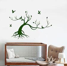 Vinyl Wall Decal Magic Tree Bird Nature Style Children's Room Stickers (1661ig)