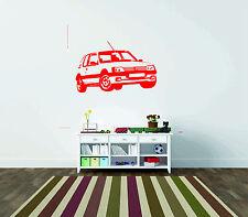 Peugeot 205 Gti Car Wall Sticker Vinyl Graphic Decal Wall Art Transfer