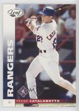 2002 Leaf National Convention #146 Frank Catalanotto Texas Rangers Baseball Card